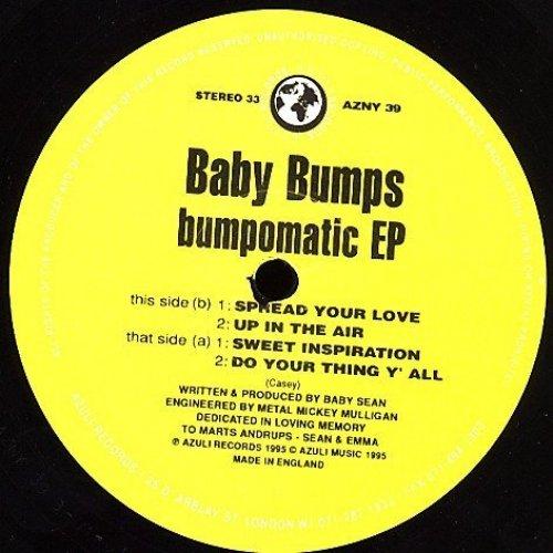 Bild 1: Baby Bumps, Bumpomatic EP (4 tracks, 1995, UK)