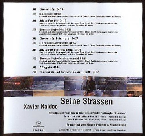 Bild 2: Xavier Naidoo, Seine Strassen (2000)