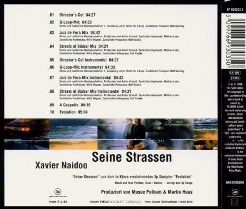 Bild 4: Xavier Naidoo, Seine Strassen (2000)