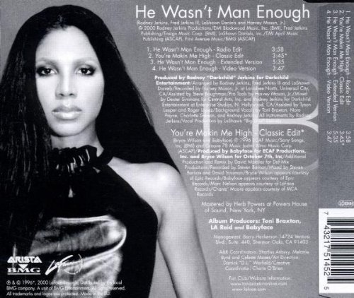 Bild 2: Toni Braxton, He wasn't man enough (2000)
