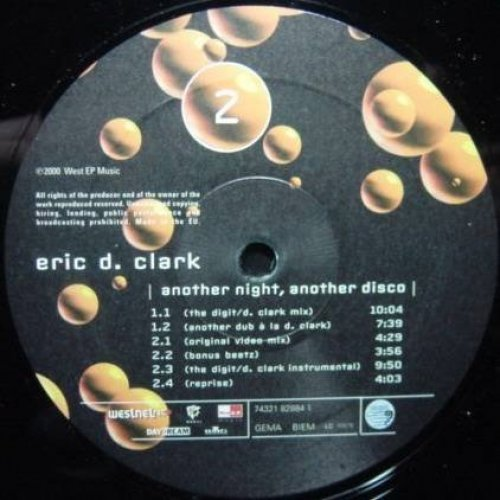 Bild 1: Eric D. Clark, Another night, another disco (2000)