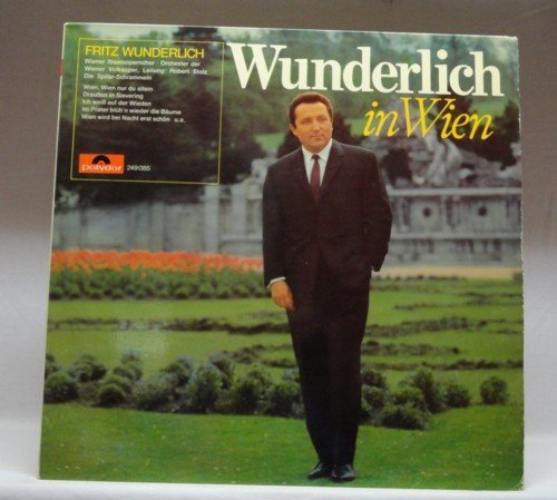 Bild 1: Fritz Wunderlich, In Wien