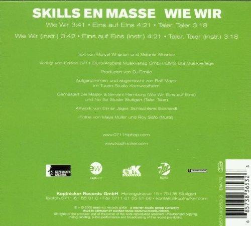 Bild 2: Skills en Masse, Wie wir (2000)