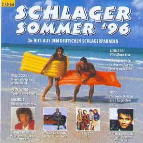 Bild 1: Schlagersommer '96 (EMI), Andy Borg, Kristina Bach, Michael Morgan, Judy Weiss, André Stade..
