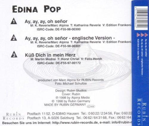 Bild 2: Edina Pop, Ay, ay, ay oh señor (1998)