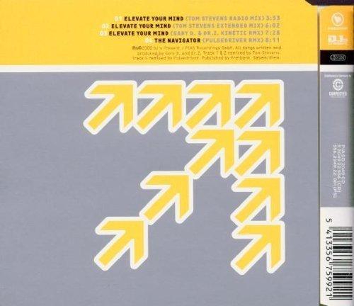 Bild 2: Gary D., Elevate your mind (incl. Tom Stevens Remix, 2000)