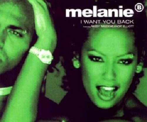 Bild 1: Melanie B., I want you back (MAW Remix/Deep Dub/Soundtrack Version, 1998, feat. Missy Elliott)