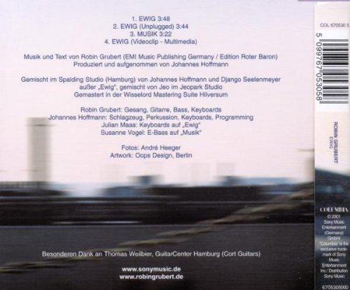 Bild 2: Robin Grubert, Ewig (2001)