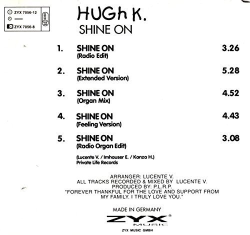 Bild 2: Hugh K., Shine on (#zyx7056)