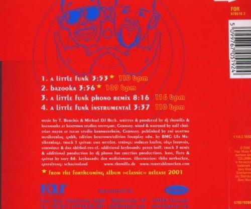 Bild 2: Turntable Rocker, A little funk (2000)