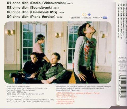 Bild 2: Atemlos, Ohne dich (2000)