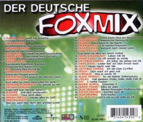 Bild 2: Der Deutsche Foxmix (2000), Claudia Jung, Mike Bauhaus, Ibo, M. Rosenberg..