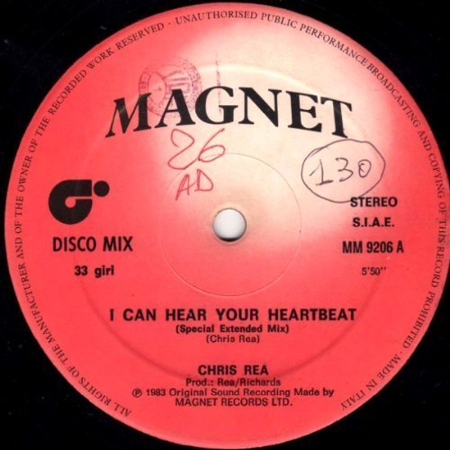 Bild 1: Chris Rea, I can hear your heartbeat (1988)