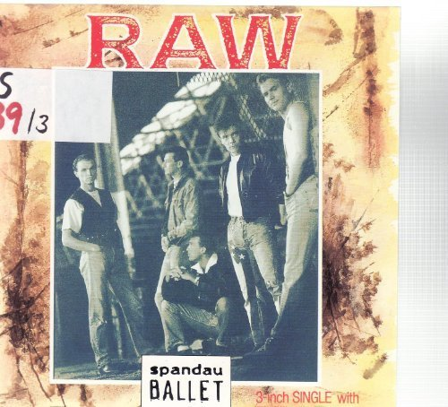 Bild 1: Spandau Ballet, Raw (1988; 3''/5''-cardsleeve)