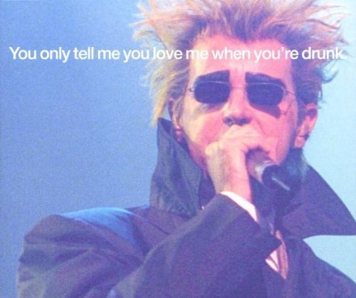 Bild 1: Pet Shop Boys, You only tell me you love me when you're drunk (2000, CD3)