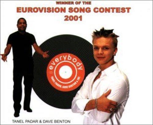 Bild 1: Tanel Padar, Everybody (2 tracks, Eurovision 2001, & Dave Benton)