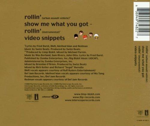 Bild 2: Limp Bizkit, Rollin' (2000, #4974822)