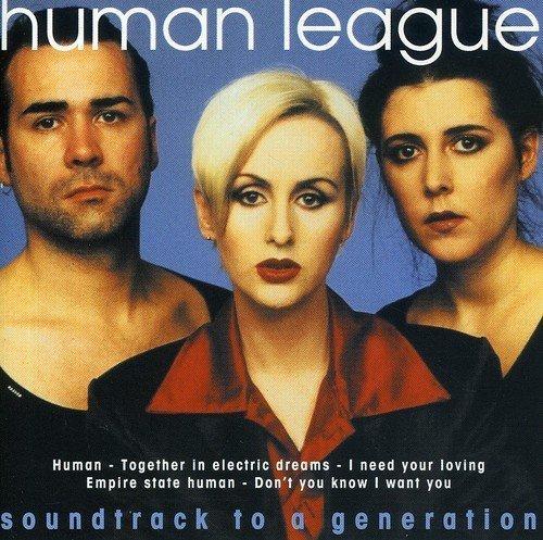 Bild 1: Human League, Soundtrack to a generation (compilation, 14 tracks, 1979-90)