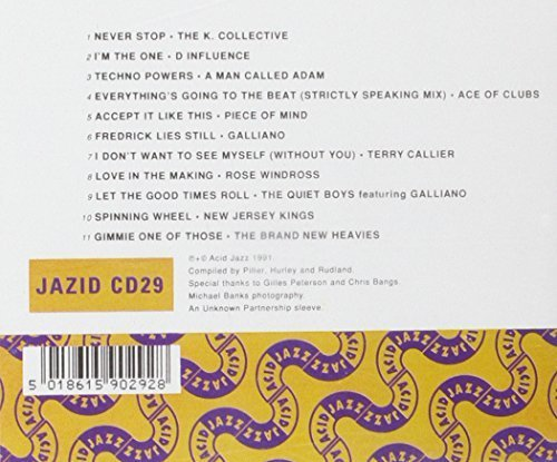 Bild 2: Acid Jazz-The Best of (1991), K-Collective, D-Influence, A Man called Adam, Ace of Clubs..