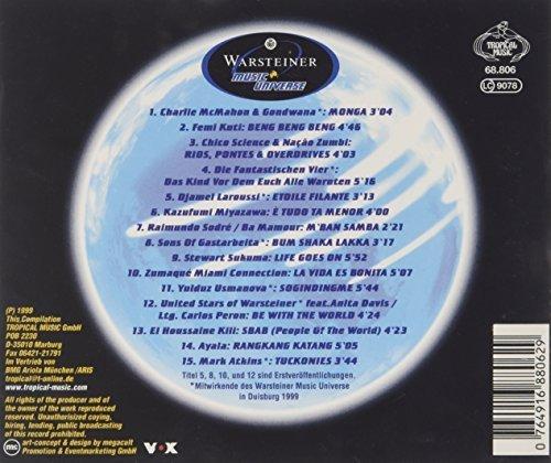 Bild 2: Warsteiner Music Universe (1999), Charlie McMahon/Gondwana, Femi Kuti, Fanta 4, Stewart Sakuma..