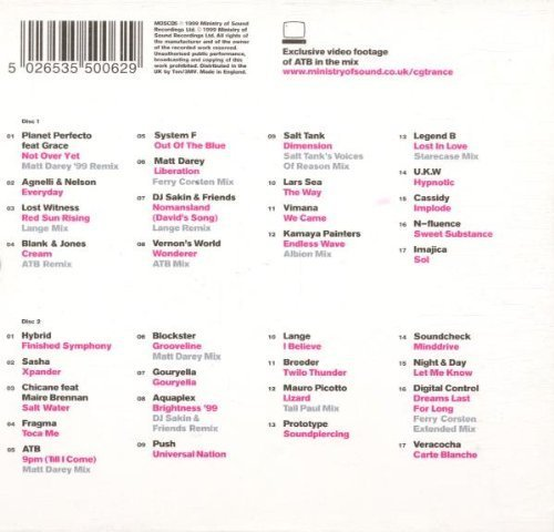 Bild 2: ATB, Clubber's guide to.. trance (mix, 1999)
