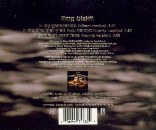 Bild 2: Limp Bizkit, My generation (2000, #4974282)