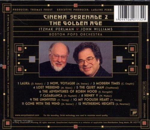 Bild 2: Itzhak Perlman, Cinema serenade 2-The golden age (1999, & Boston Pops Orchestra, John Williams)