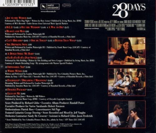 Bild 2: 28 Days (2000), Three Dog Night, London Wainwright III, Otis Redding..