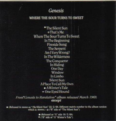 Bild 2: Genesis, Where the sour turns to sweet (1969)
