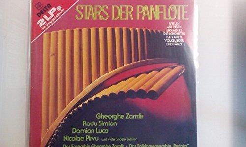 Bild 1: Stars der Panflöte, Gheorghe Zamfir, Radu Simion, Damian Luca, Nicolae Pirvu..