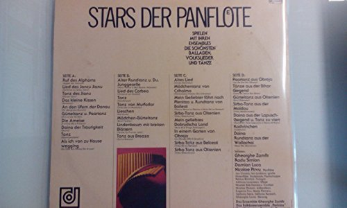 Bild 2: Stars der Panflöte, Gheorghe Zamfir, Radu Simion, Damian Luca, Nicolae Pirvu..
