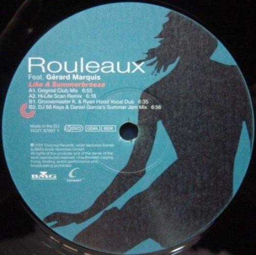 Bild 1: Rouleaux, Like a summerbreeze (2001, feat. Gérard Marquis)