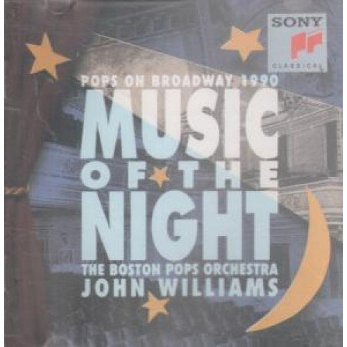 Bild 1: John Williams, Music of the night-Pops on Broadway (1990, & The Boston Pops Orch.)