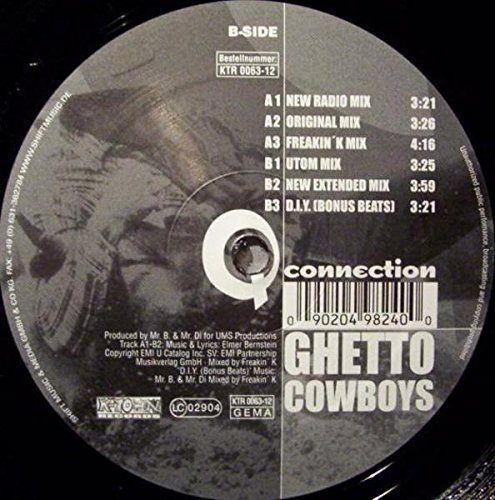 Bild 1: Q-Connection, Ghetto cowboys (#zyx/ktr0063)