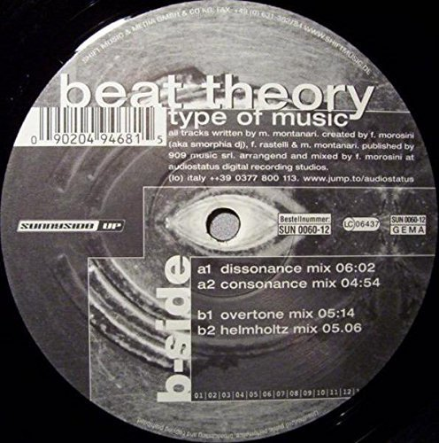 Bild 1: Beat Theory, Type of music (#zyx/sun0060)