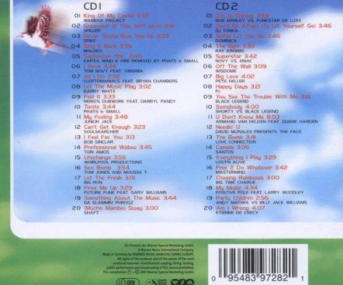 Bild 2: House of Spring-40 House Classics für den Frühling (2001), Wamdue Project, Spiller, Spike, Moloko, Dj Tonka..