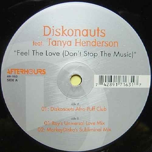 Bild 1: Diskonauts, Feel the love (Diskonauts Afro-Puff Club, feat. Tanya Henderson)