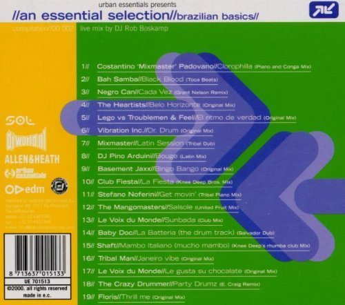 Bild 2: An Essential Selection//Brazilian Basics, mix by DJ Rob Boskamp (2000)