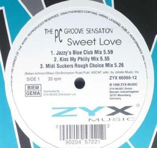 Bild 1: PC Groove Sensation, Sweet love (1996, #zyx8443)