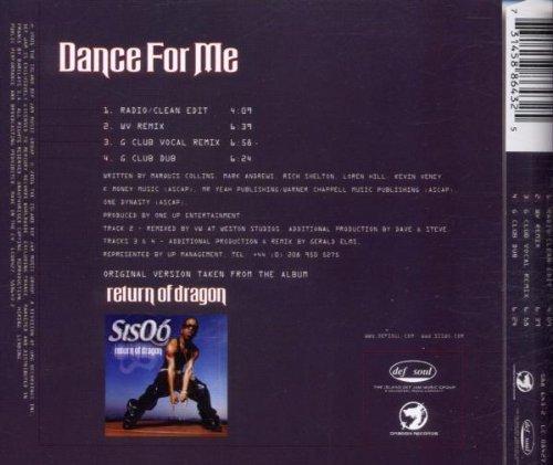 Bild 2: Sisqó, Dance for me (2001)