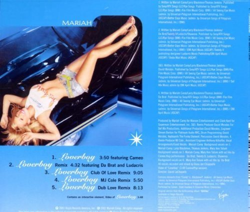 Bild 2: Mariah Carey, Loverboy (5 versions/video, 2001)