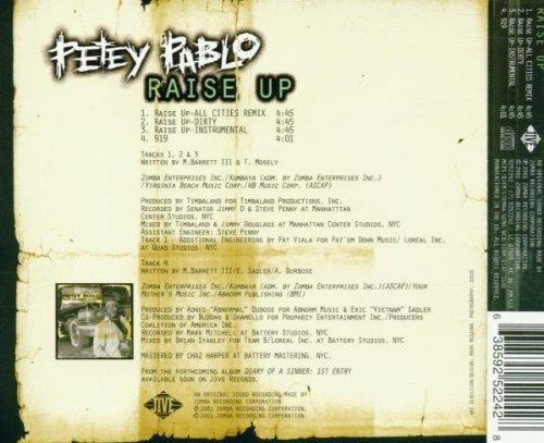 Bild 2: Petey Pablo, Raise up (2001)