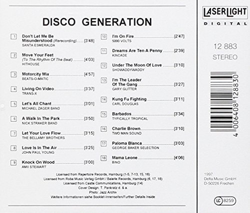 Image 2: Disco Generation-18 super Disco Hits, Santa Esmeralda, Trans-X, Michael Zager Band, 5000 Volts, Two Man Sound..