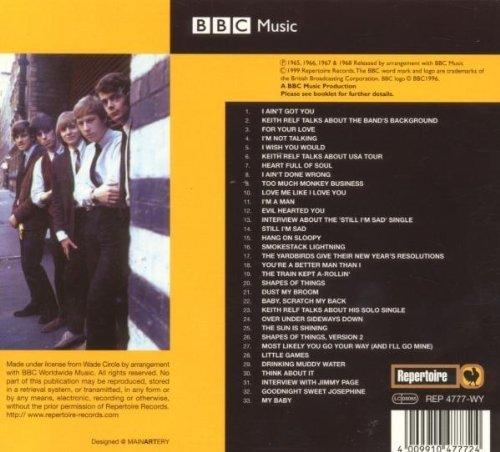 Bild 2: Yardbirds, BBC sessions (33 tracks, 1965-68, Repertoire)