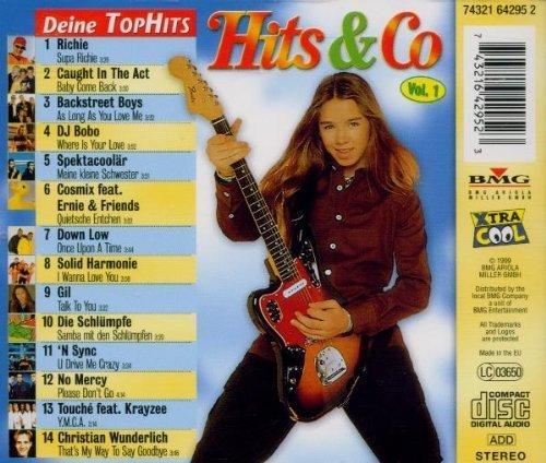 Bild 2: Hits & Co 1, Richie, Caught in the Act, Backstreet Boys, DJ Bobo, Spektacoolär..