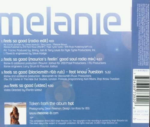 Bild 2: Melanie B., Feels so good (2001)