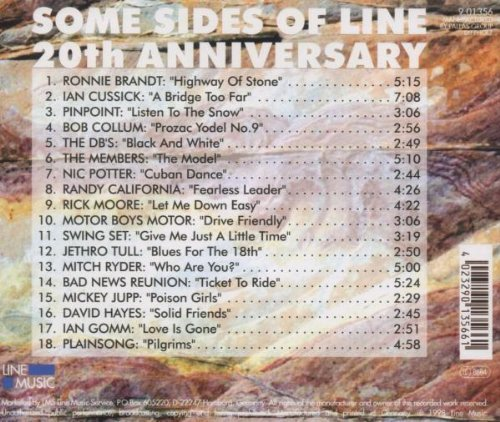 Bild 2: Line-Some Sides of-20th Anniversary (1999), Ronnie Brandt, Ian Cussick, Jethro Tull, Mitch Ryder..