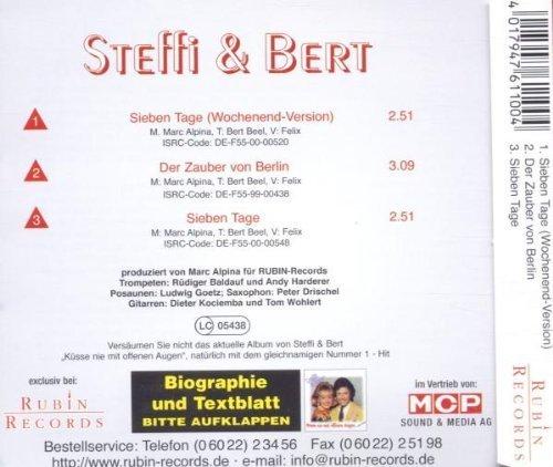Bild 2: Steffi & Bert, 7 Tage