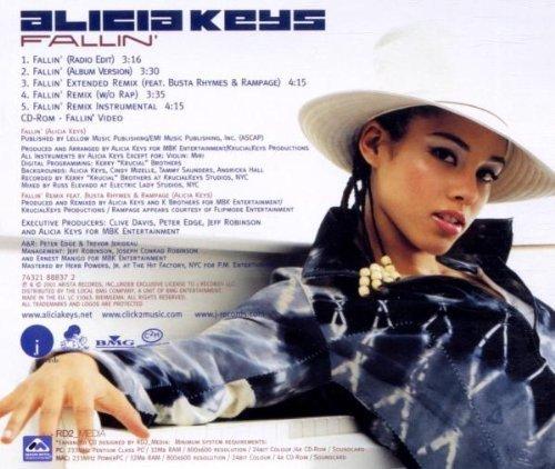 Фото 2: Alicia Keys, Fallin' (2001)
