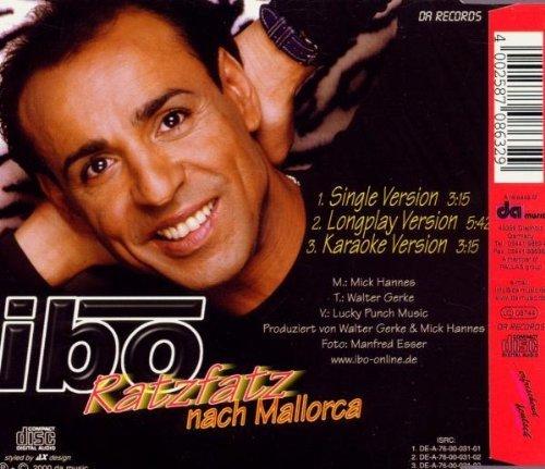 Bild 2: Ibo, Ratzfatz nach Mallorca (2000)